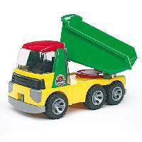 Vehicule Pour Enfant BRUDER 20000 - Camion benne ROADMAX - 36.5 cm