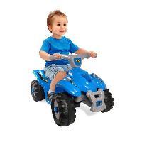 Vehicule Pour Enfant D'ARPEJE Quad Electrique Bleu 6 Volts
