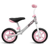 Vehicule Pour Enfant Draisienne grise et rose - SKIDS CONTROL