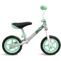 Vehicule Pour Enfant Draisienne grise et turquoise - SKIDS CONTROL