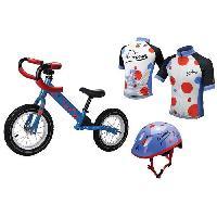 Vehicule Pour Enfant FUNBEE - Le pack du P'tit Grimpeur : Draisienne + casque + maillot a poids