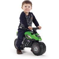Vehicule Pour Enfant KAWASAKI Porteur Baby Moto Bud Racing - Vert - Falk