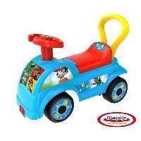 Vehicule Pour Enfant Porteur Pousseur Pat' Patrouille - Fabrique en France- D'ARPEJEBleu et rouge - D'ARPEJE