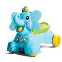 Vehicule Pour Enfant Senso porteur elephant 3 en 1
