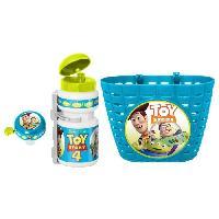 Vehicule Pour Enfant TOY STORY 4 Combo corbeille + bidon + sonnette - Disney