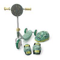 Vehicule Pour Enfant TROTINETTE 3 ROUES BOARD + CASQUE + 2 PROTECTIONS