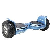 Vehicule TAAGWAY Hoverboard electrique Country HUMMER - Tout terrrain - 8.5 - 700W - 4.4Ah - Bleu