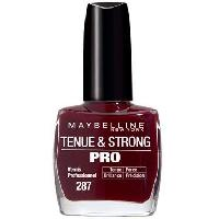 Vernis A Ongles GEMEY MABELLINE Vernis Tenue & Strong Pro - Rouge - Gemey Maybelline