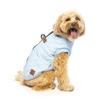 Vetement - Accessoire FUZZYARD Blouson Harnais MacGyver - 35-38.5 cm - Bleu clair - Pour chien