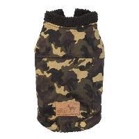 Vetement - Accessoire FUZZYARD Manteau G.I Dog Denim - 59-62 cm - Pour chien