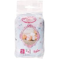 Vetement - Accessoire Poupon Baby Annabell - Paquet de 5 couches - poupon 43 cm