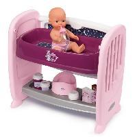 Vetement - Accessoire Poupon SMOBY Baby Nurse Co Dodo 2 en 1 - 14 Accessoires + Poupon Pipi