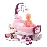 Vetement - Accessoire Poupon SMOBY Baby Nurse Nursery Electronique + Poupon Pipi - 24 Accessoires