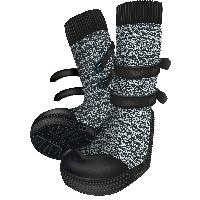 Vetement - Accessoire Protection des pattes Walker Socks taille XL - 2 Pcs noir gris