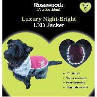 Vetement - Accessoire ROSEWOOD Veste LED de luxe 12 - Pour chien