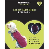 Vetement - Accessoire ROSEWOOD Veste de luxe a LED nocturne - Pour chien