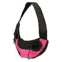 Vetement - Accessoire TRIXIE Sac frontal Sling - 50 × 25 × 18 cm - Rose et noir - Pour chien
