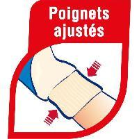 Vetement De Jardinage MAPA - Taille des Rosiers - Gants de Jardinage Textile 100 Coton - Anti-Perforation - Ideal taille des epineux - Bleus - Taille 7-M