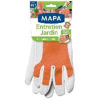 Vetement De Jardinage MAPA Gants de jardin - Entretien Jardin Femme - Taille M - T7