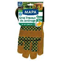 Vetement De Jardinage MAPA Gants de jardin - Gros travaux de jardinage - Taille XL / T9