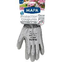 Vetement De Jardinage MAPA Gants de jardin - Protection coupure - T8