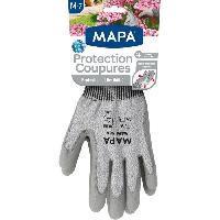 Vetement De Jardinage MAPA Gants de jardin - Protection coupure - Taille M - T7