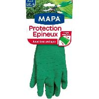 Vetement De Jardinage MAPA Gants de jardin - Protection des epineux - Taille M-L - T7-8