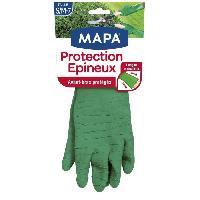 Vetement De Jardinage MAPA Gants de jardin - Protection des epineux - Taille S-M - T6-7