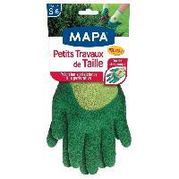Vetement De Jardinage MAPA Gants de jardin Petit travaux de Taille - Taille S - T6