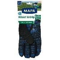 Vetement De Jardinage MAPA Gants de jardin Resist' And Grip - Taille L / T8