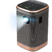 Videoprojection ACER AOPEN AH15 Vidéoprojecteur portable LED sans fil HD (1280x720) - 400 lumens - Haut-parleurs Bluetooth 5Wx2 - Noir