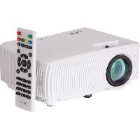 Videoprojection LTC VP1000-W Projecteur vidéo compact a LED - Duplication d'écran par wifi - LED 40 W