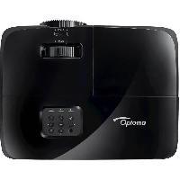 Videoprojection OPTOMA DS320 -  Vidéoprojecteur SVGA (800x600) - 3800 Lumens - HDMI - Haut-parleur 10W - 29dB - Noir