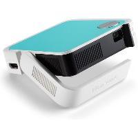 Videoprojection VIEWSONIC M1 Mini - Vidéoprojecteur de poche LED (854x480) - 120 lumens - Hauts-parleurs JBL - 2W - Batterie intégrée