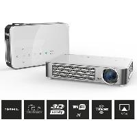 Videoprojection VIVITEK QUMI Q6 blanc Videoprojecteur WXGA HD WiFi