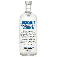 Vin - Alcool - Liquides Absolut Vodka 1 litre