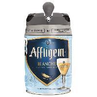 Vin - Alcool - Liquides Affligem Blanche - Biere blanche d'Abbaye - Fut de 5L compatible Beertender