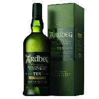 Vin - Alcool - Liquides Ardbeg 10 ans Non Chill-Filtered - Islay Single Malt Scotch Whisky - 46%vol - 70cl - Sous étui