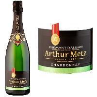 Vin - Alcool - Liquides Arthur Metz Chardonnay - Crémant d'Alsace