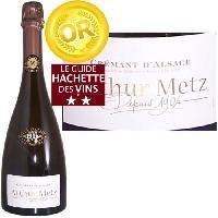 Vin - Alcool - Liquides Arthur Metz Cuvée 1904 - Crémant d'Alsace