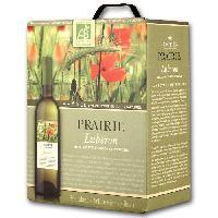 Vin - Alcool - Liquides BIB Prairie Lubéron - Vin blanc de la Vallée du Rhône Bio