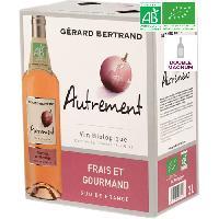 Vin BIB 3L Gérard Bertrand Autrement Rosé VIN DE France - Vin rosé de France - Bio