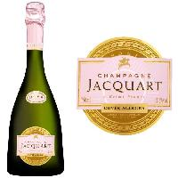 Vin Champagne Jacquart Allégra Rosé