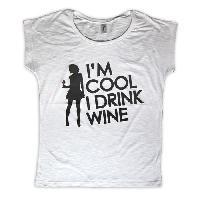 Vin T-shirt Miss Vicky Femme taille L - Generique