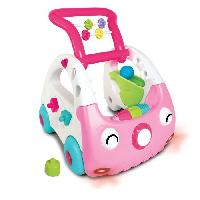 Voiture INFANTINO Mini car decouverte 3 en 1 rose