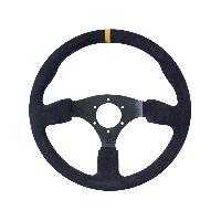 Volant GT2i Race Noir - Branche Noire Plat