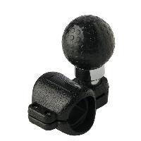 Volants & moyeux Boule compatible avec volant - Noir a pictos