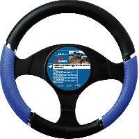 Volants & moyeux Couvre Volant - 37-39cm - Speed - Bleu et Noir - ADNAuto