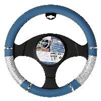 Volants & moyeux Couvre volant - 37-39cm - PVC - Bleu Gris ADNAuto