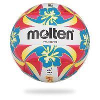 Volley-ball MOLTEN Ballon De Beach-Volley Logo Lnv - Rouge et Jaune Aucune